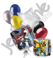 7 pc Transformers Optimus Prime & Bumblebee Balloon Bouquet Super Decoration