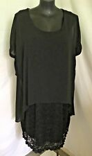"""AUTOGRAPH BLACK """"LACE DRESS"""" OVERLAY DRESS SZ 26-NEW STOCK JUST IN -STUNNING!!!!"""