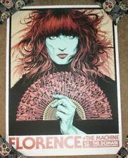 Florence & The Machine concert poster print Sydney 1-26-19 2019 sn Ken Taylor