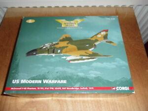 CORGI AVIATION 1:72 SCALE - MCDONNELL F-4D PHANTOM  USAF, RAF SUFFOLK  AA33218