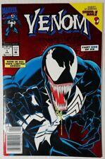 Venom Lethal Protector #1 Red Foil UPC Newsstand Variant Marvel Comics Feb 1983