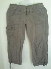 Womens GAP Brown  Surplus Capri  shorts, Sz 1