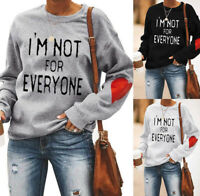 I'm Not For Everyone Sweatshirt Oversized Sweater Pullover Hoodie