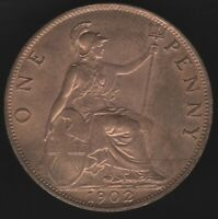 1902 Edward VII One Penny Coin | British Coins | Pennies2Pounds