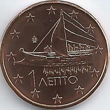 Grèce 1 Cent Pièce De Monnaie 2002 F 2017,non Mis En Circulation/pas Circulation