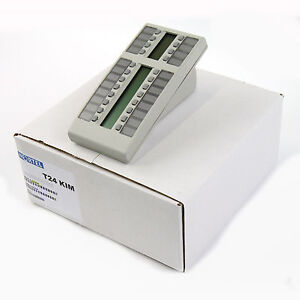 Nortel Norstar T24 Platinum Avaya KIM Key Indicator Module - Bulk