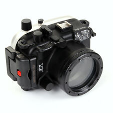 PRO Meikon 40M Waterproof Underwater Camera Housing Case for Canon PowerShot G7X