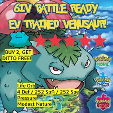 VENUSAUR 6IV Pokemon Sword and Shield   BATTLE READY   + DITTO OFFER LEGITIMATE