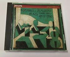 KORNGOLD ZEMLINSKY BEAUX ARTS TRIO PIANO TRIOS (CD 1994 PHILIPS/BMG DIRECT)
