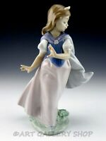 Lladro Figurine YOUNG PRINCESS GIRL WITH CROWN / TIARA #6036 Retired Mint