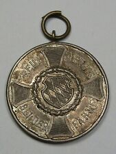 German Medal: Bavaria Serucio Medal. III Class 1913-1918 Issuer.  #52