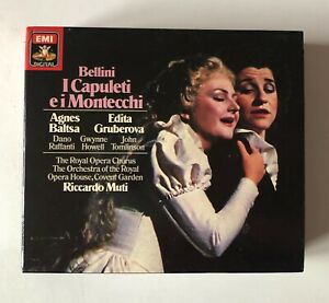 OPERA 2CD BOXSET 1985 EMI DIGITAL BELLINI I CAPULETI E I MONTECCHI MUTI BALTSA