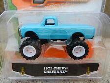 1:64 JADA TOYS *JUST TRUCKS 13* Baby Blue 1972 Chevy Cheyenne C10 Pickup *NIP*
