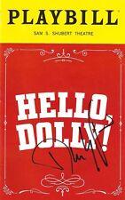 "Donna Murphy ""HELLO DOLLY"" David Hyde Pierce (Signed) Jerry Herman 2017 Playbill"