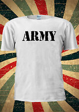 Army Military US British Surplus Combat T-shirt Vest Top Men Women Unisex 1991