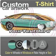 Custom T-shirt for 1968 68 Dodge Dart GTS GT drag Hardtop Coupe V8 Hemi 426 Fans