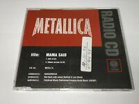 0121- METALLICA MAMA SAID 2 TRACKS CD ( DISCO ESTADO BUENO)