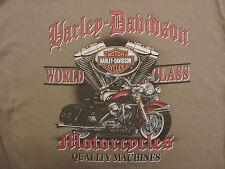Harley Davidson Newnan GA Mens Tan XL TShirt Short Sleeve