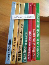 LOT  7 MARTINE soit 56 livres Jeunesse Casterman SERIE INTEGRALE? LIVRE
