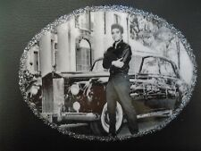 NEW QUALITY REAL LEATHER ELVIS PRESLEY GENTS WALLET