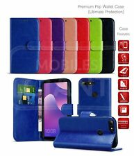 For HTC One X10 Wallet Case Card Slot Book Cover PU Leather Phone Case