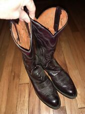 Mens Brown lucchese Boots Size 8.5