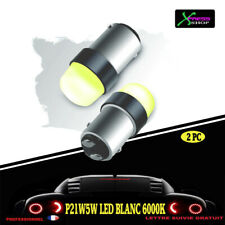 kit 2 p21/5w led cob 6000k blanc pur protection silicone new 2019 *