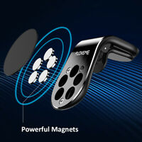 1Pc Black Strong Magnetic L Shape Clip Air Vent Mount Holder For Car Phone GPS