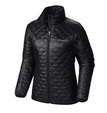 Women's Columbia Omni-heat Thermal Reflective Xs Black Jacket.