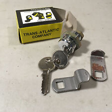 """3/4"""" Cylinder Lock with Keys by Trans Atlantic New Old Stock"""