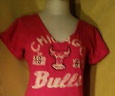 TOUCH.By. Alyssa Milano.Womens Chicago Bulls Tshirt Size XS.