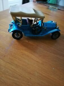 Matchbox models of yesteryear 1909 Thomas Flyabout diecast vintage model car