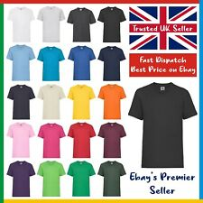 CHILDRENS T-SHIRT • Fruit of the Loom Value Tee 100% Cotton • Boys / Girls • SS6