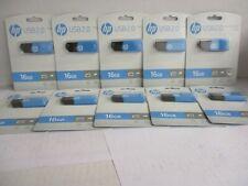 10 HP USB 2.0 FLASH DRIVE 16 GB 16GB BLUE - GW 2052
