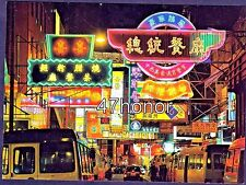 Hong Kong , Jaffe Road, Causeway Bay, Public Light Buses, Published in 2002, PC