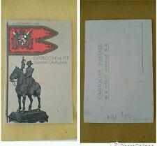 DRAGONI DEL RE - GENOVA - CAVALLERIA - NON VIAGGIATA - 1904