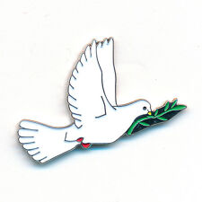 Taube Frieden Peace Liebe Friedenstaube Badge Metall Button Pin Anstecker 0834