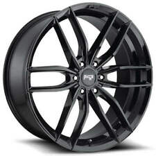 "4ea 24"" Niche Wheels M209 Vosso 6-Lug Gloss Black Rims(S45)"