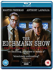 The Eichmann Show NEW Documentaries Blu-Ray Disc Paul Andrew Williams M. Freeman