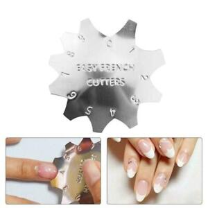 PINK CUTTER Pink & White Acrylic Gel Nail Cutter Q-French Product Tool G1Q9