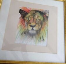 Artist Medium (up to 36in.) Animals Art Drawings