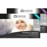 DOWNIA Designer Collection Microfibre Pillow MEDIUM & FIRM Profile FREE SHIPPING