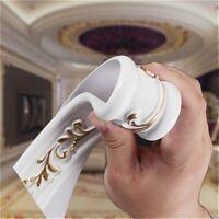 Decorative Plume Scrolls Ribbon Trim Onlay Furniture Moulding Carved Home Modern