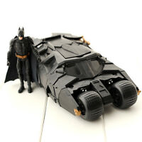 DC BATMAN THE DARK KNIGHT BATMOBILE FIGURES DOLL TUMBLER DIECAST VEHICLE CAR TOY