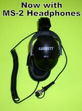 New Garrett Ms-2 Headphones to use with your At Metal Detector * Fast Free Ship