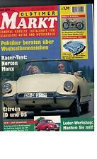 Oldtimer Markt Europas grösste Zeitschrift für klassische Autos - Heft 8 - 1994