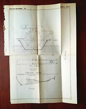 1882 Sketch Diagram of Appliance Used in Longitudinal Sounding of MS River