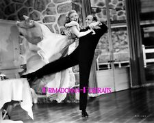 """GINGER ROGERS & FRED ASTAIRE 8X10 Lab Photo B&W 1934 """"GAY DIVORCEE"""" DANCING DUO"""