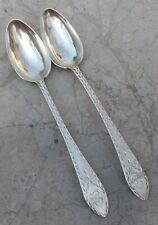 (2)SAMUEL AVERY,  Coin Silver, tea spoons, Brite-cut, c.1790