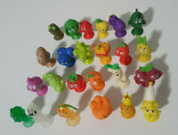 Complete 24 Coles Fresh Stikeez Set -WITH RARE CUCUMBER CARROT AND BROCCOLI!
